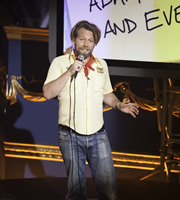 Set List: Stand-Up Without A Net. Tony Law. Copyright: Princess Productions / Susquehanna Hats.