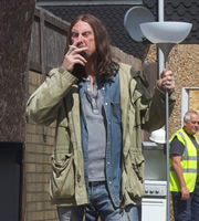 Shameless. Frank Gallagher (David Threlfall). Image credit: Company Pictures.