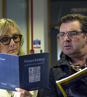 Starlings. Image shows from L to R: Jan (Lesley Sharp), Terry (Brendan Coyle). Copyright: Baby Cow Productions.