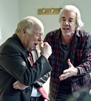 The Old Guys. Image shows from L to R: Roy (Clive Swift), Tom (Roger Lloyd-Pack). Copyright: BBC.