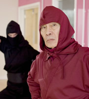 The Wrong Door. Ninja Master (Burt Kwouk). Copyright: BBC.