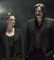 Toast Of London. Image shows from L to R: Jemima Gina (Morgana Robinson), Steven Toast (Matt Berry). Copyright: Objective Productions.