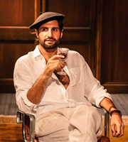 Top Coppers. Gerard Cliché (Kayvan Novak). Copyright: Roughcut Television.