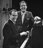 Two Of A Kind. Image shows from L to R: Eric Morecambe, Ernie Wise. Copyright: Associated Television.