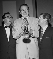 Two Of A Kind. Image shows from L to R: Eric Morecambe, Humphrey Lyttelton, Ernie Wise. Copyright: Associated Television.
