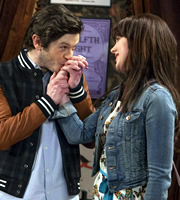 Vicious. Image shows from L to R: Ash (Iwan Rheon), Chloe (Alexandra Roach). Copyright: Brown Eyed Boy / Kudos Productions.