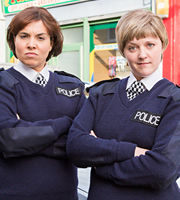 Watson & Oliver. Image shows from L to R: Ingrid Oliver, Lorna Watson. Copyright: BBC / Popper Pictures.