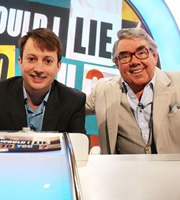Would I Lie To You?. Image shows from L to R: David Mitchell, Ronnie Corbett. Copyright: Zeppotron.