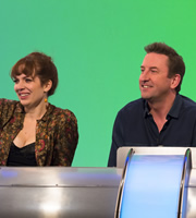 Would I Lie To You?. Image shows from L to R: Katherine Parkinson, Lee Mack. Image credit: Zeppotron.