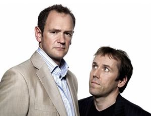 The Armstrong & Miller Show. Image shows from L to R: Alexander Armstrong, Ben Miller. Copyright: Hat Trick Productions / Toff Media.
