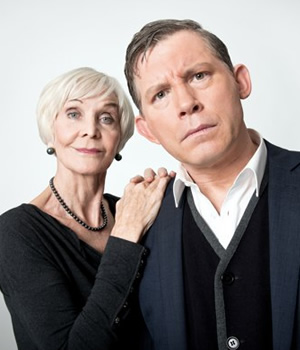 Barking In Essex. Image shows from L to R: Sheila Hancock, Lee Evans.