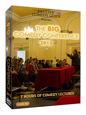 Big Comedy Conference 2013 DVD.