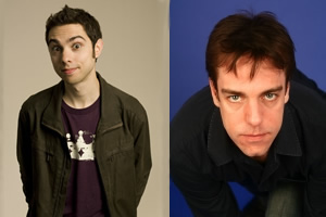 Bigipedia. Image shows from L to R: Matt Kirshen, Nick Doody. Copyright: Pozzitive Productions.