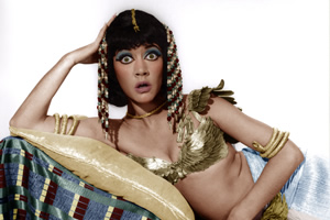 Carry On Cleo. Cleopatra (Amanda Barrie). Copyright: Peter Rogers Productions.