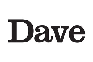 Dave channel logo.. Copyright: UKTV.