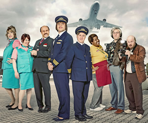 Come Fly With Me. Image shows from L to R: David Walliams, Matt Lucas. Image credit: Little Britain Productions.