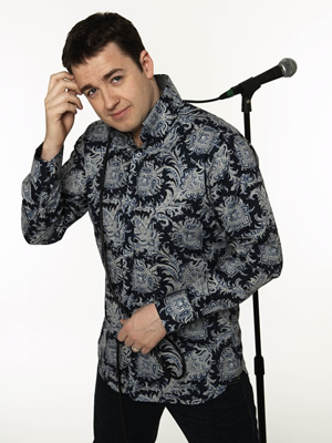Comedy Rocks With Jason Manford. Jason Manford. Image credit: ITV Studios.