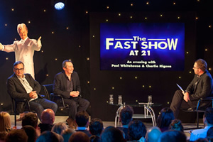 The Fast Show at 21. Image shows from L to R: Charlie Higson, Paul Whitehouse, Danny Wallace.
