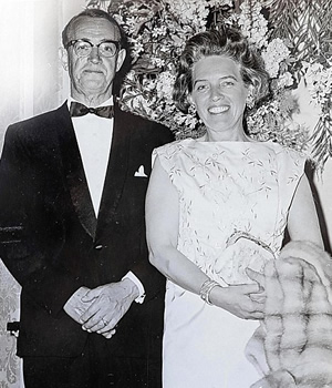 Donald Sinclair and his wife Beatrice.