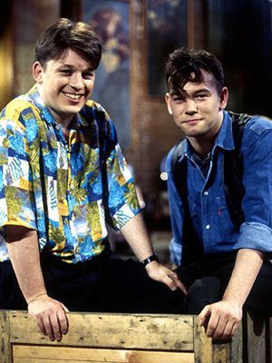 Fist Of Fun. Image shows from L to R: Richard Herring, Stewart Lee.