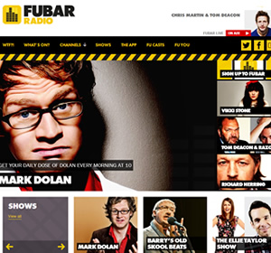 FUBAR Radio website.