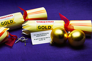 UKTV Gold - Christmas Crackers 2015.