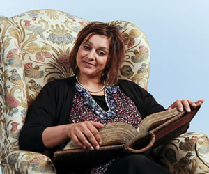 Horrible Histories. Meera Syal. Image credit: Lion Television.