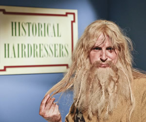 Horrible Histories. Ben Willbond. Image credit: Lion Television.