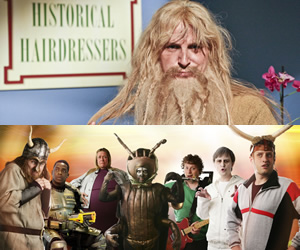 Horrible Histories (Top); Sorry I've Got No Head (Bottom).