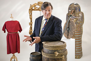 Horrible Histories With Stephen Fry. Stephen Fry. Copyright: Lion Television / Citrus Television.