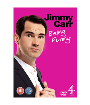 Jimmy Carr - Being Funny. 2011 DVD review