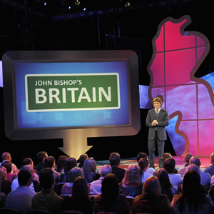 John Bishop's Britain. John Bishop. Copyright: Objective Productions / 3 Amigos Productions.