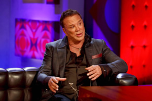 Friday Night With Jonathan Ross. Mickey Rourke. Copyright: Hot Sauce.