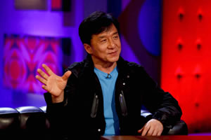 Friday Night With Jonathan Ross. Jackie Chan. Copyright: Hot Sauce.