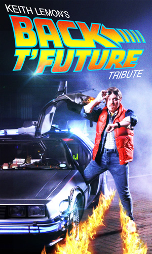 Keith Lemon's Back T'Future Tribute. Leigh Francis. Copyright: Talkback / Bang Tidy Productions.