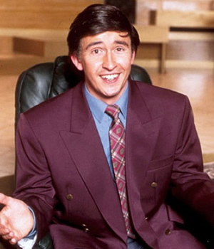 Knowing Me, Knowing You... With Alan Partridge. Alan Partridge (Steve Coogan). Image credit: TalkbackThames.