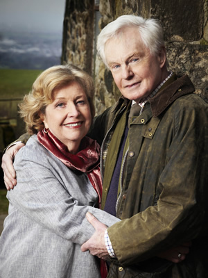 Last Tango In Halifax. Image shows from L to R: Celia (Anne Reid), Alan (Derek Jacobi). Copyright: Red Production Company.
