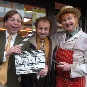 The League Of Gentlemen. Image shows from L to R: Steve Pemberton, Reece Shearsmith, Mark Gatiss. Image credit: British Broadcasting Corporation.
