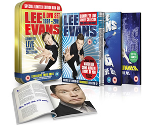 Lee Evans Complete Live Comedy Collection 1994 - 2011.