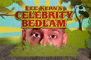Lee Kern's Celebrity Bedlam. Lee Kern. Copyright: Objective Productions / Lee Kern Productions.