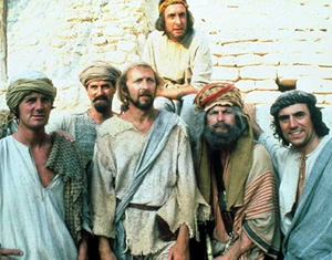Monty Python's Life Of Brian. Image credit: Hand Made Films.