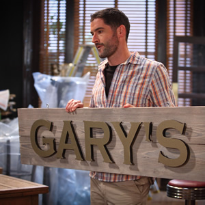 Miranda. Gary (Tom Ellis). Image credit: British Broadcasting Corporation.