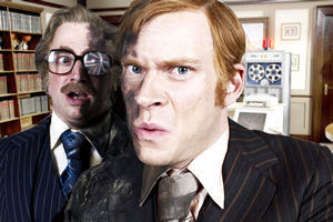 That Mitchell And Webb Look. Image shows from L to R: David Mitchell, Robert Webb. Copyright: BBC.
