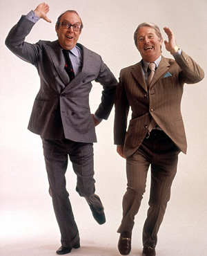 Morecambe & Wise. Image shows from L to R: Eric Morecambe, Ernie Wise.