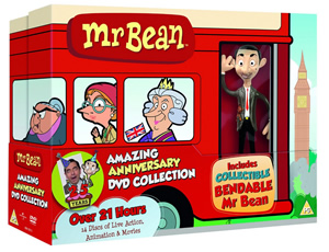 Mr Bean DVD boxset.
