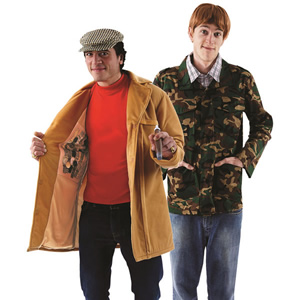Only Fools and Horses fancy dress.