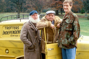 Only Fools & Horses van sale