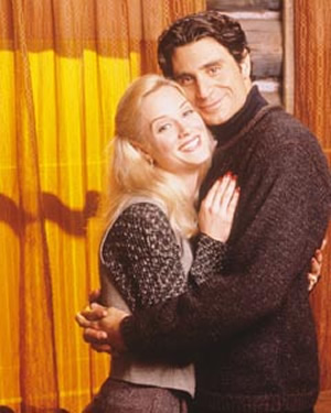 Teri Polo and Paul Provenza in Northern Exposure.