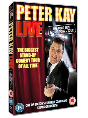 Peter Kay - The Tour That Doesn't Tour - Tour DVD. Peter Kay.