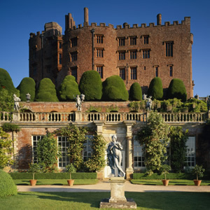 Powis Castle. Image credit: National Trust.
